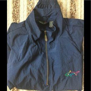 Greg Norman Gold wind jacket